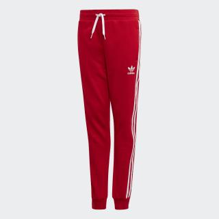 Pantaloni 3-Stripes Scarlet / White ED7812