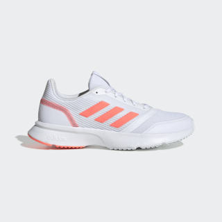 Nova Flow Shoes Cloud White / Signal Coral / Cloud White EH1379