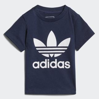 Camiseta Trifolio COLLEGIATE NAVY/WHITE D96099