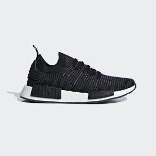 รองเท้า NMD_R1 STLT Primeknit Core Black / Core Black / Active Purple CG6270