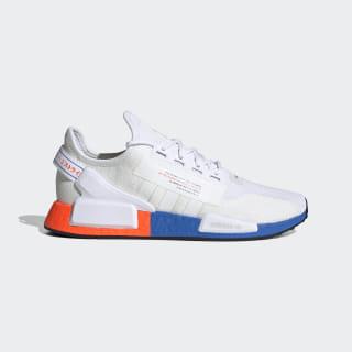 NMD_R1 V2 Shoes Cloud White / Cloud White / Glow Blue FX3949