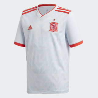 Spain Away Jersey White / Halo Blue / Bright Red BR2694