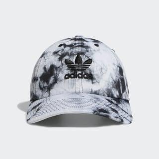 Relaxed Tie-Dye Strap-Back Hat Black CK5041