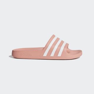 Adilette Aqua Slides Dust Pink / Cloud White / Dust Pink F35534