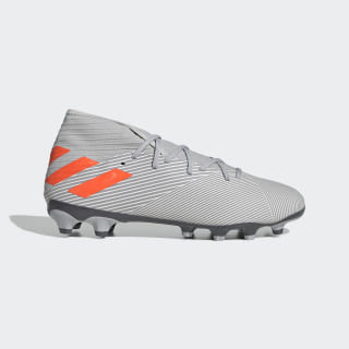 Kopačky Nemeziz 19.3 Multi-Ground Grey Two / Solar Orange / Chalk White EF8859