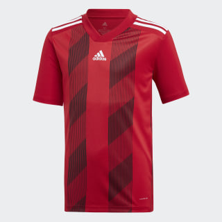 Striped 19 Jersey Power Red / White DU4395