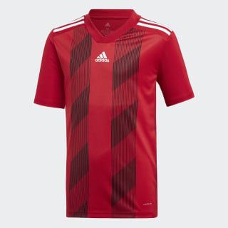 Striped 19 Voetbalshirt Power Red / White DU4395