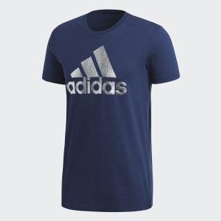 Camiseta BOS FOIL Collegiate Navy CV4508