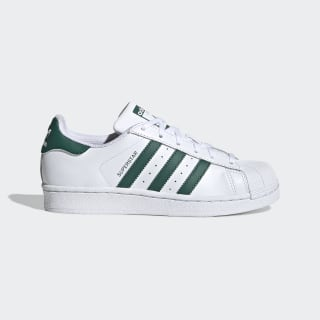 Zapatilla Superstar Cloud White / Collegiate Green / Cloud White EE7821