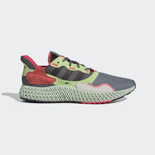 ZX 4000 4D Shoes Grey Three / Core Black / Hi-Res Yellow BD7927