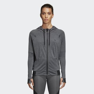 Chaqueta con Capucha Performance Dark Grey Heather BK7678