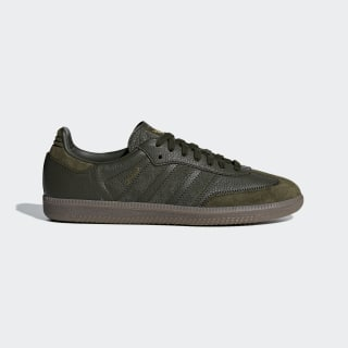 Кроссовки Samba OG FT night cargo / night cargo / gold met. BD7526