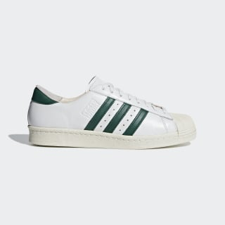 Zapatillas Superstar 80s Recon CRYSTAL WHITE/COLLEGIATE GREEN/OFF WHITE B41719