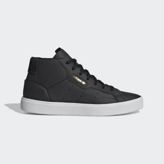 Zapatilla adidas Sleek Mid Core Black / Core Black / Crystal White EE4727