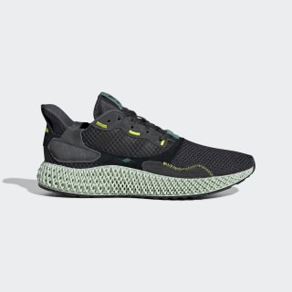 ZX 4000 4D Shoes Carbon / Carbon / Semi Solar Yellow BD7865