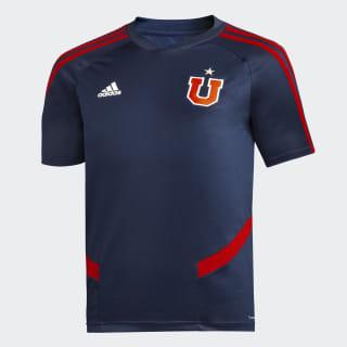 Camiseta de Entrenamiento Club Universidad de Chile NIÑO collegiate navy / power red DT8595