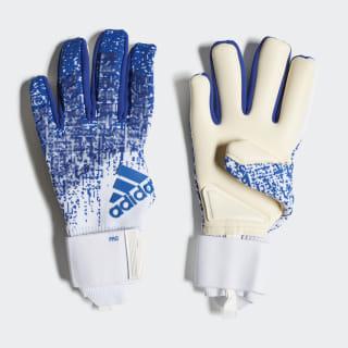 Predator Pro Torwarthandschuhe Football Blue / White DN8582