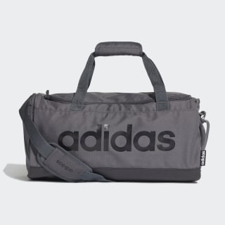 Linear Logo Duffel Bag Grey Six / Black / Black FS6501