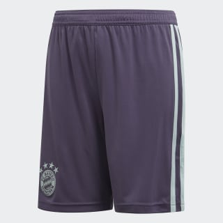 Гостевые игровые шорты Бавария Мюнхен trace purple s18 / ash green s18 CF5413