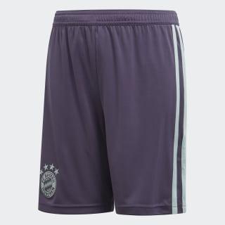 Short Away FC Bayern Trace Purple / Ash Green CF5413