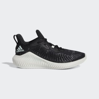 Кроссовки Alphabounce+ Parley core black / linen green / ftwr white EE8282