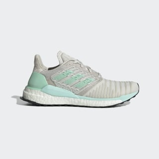 Solarboost Shoes raw white / clear mint / active purple D97432