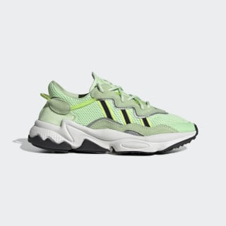 OZWEEGO Shoes Glow Green / Core Black / Solar Yellow EF9475