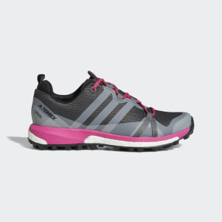 TERREX Agravic GTX Shoes Grey Four / Grey One / Real Magenta AQ0233