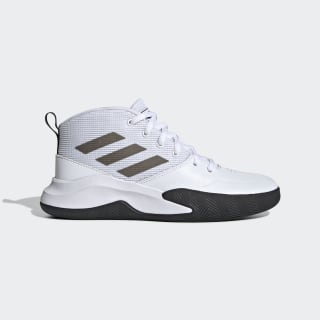 Own the Game Wide Shoes Cloud White / Core Black / Cloud White EF0310