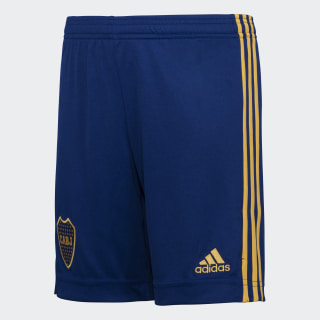 Shorts Uniforme Titular Boca Juniors Niño  Mystery Ink / Bold Gold GL4167