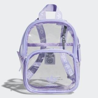 Clear Mini Backpack Light Purple CL6149