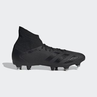 Botas de Futebol Predator 20.3 – Piso mole Core Black / Core Black / Solid Grey EF2204