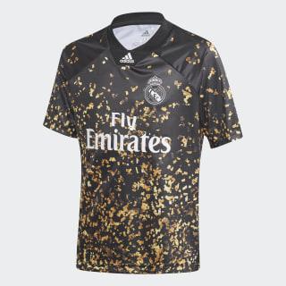 Real Madrid EA Voetbalshirt Black / White FN1411