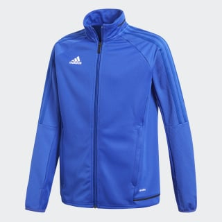 Tiro 17 Training Jacket Bold Blue / Black / White BR2701