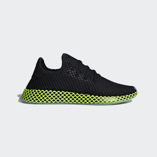 Sapatos Deerupt Runner Core Black / Core Black / Ash Blue B41755