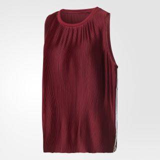 Camiseta sin mangas Loose Trefoil Collegiate Burgundy BR4571