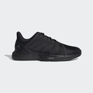 Кроссовки для тенниса CourtJam Bounce core black / core black / carbon EE4319