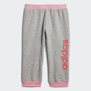 Pants I Lin medium grey heather/REAL PINK S18 EI7917