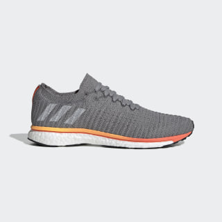 Adizero Prime LTD Shoes Grey Three / Cloud White / Solar Orange G28883