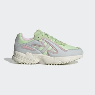 Zapatilla Yung-96 Chasm Glow Green / Off White / Blue Tint EE8008