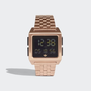 ARCHIVE_M1 Watch Rose Gold / Black CJ6309