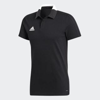 Футболка-поло Condivo 18 CO POLO black / white BQ6565