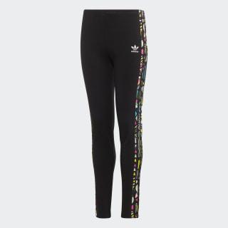 Leggings Black / Multicolor EJ5624