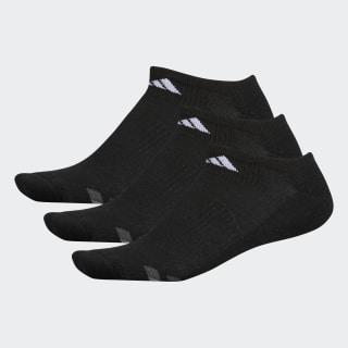 Cushioned No-Show Socks 3 Pairs Black / White / Light Onix H77466