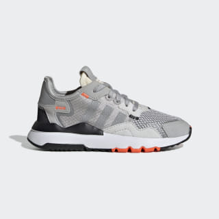 Nite Jogger Shoes Grey Two / Multi Solid Grey / Solar Orange DB2811