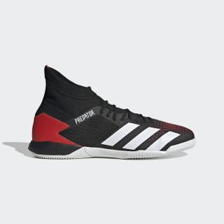 Calzado de Fútbol Predator 20.3 Cancha Cubierta Core Black / Cloud White / Active Red EF2209