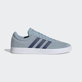 VL Court 2.0 Shoes Ash Grey / Tech Indigo / Cloud White EG3966