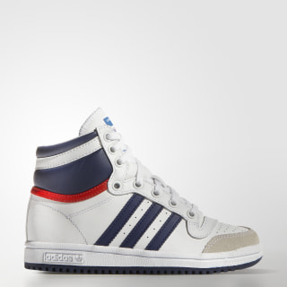 Top Ten Hi Shoes Cloud White / Dark Blue / Power Red M25299