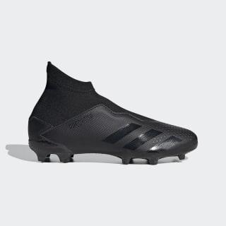 Botas de Futebol Predator 20.3 – Piso Firme Core Black / Core Black / Solid Grey FV3115