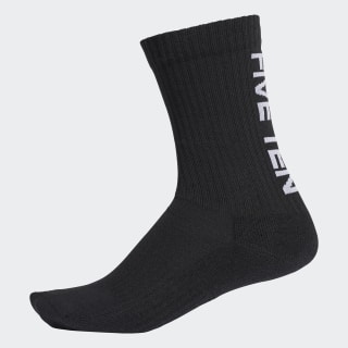 3-Stripes Performance Half-Cushioned Crew Socks 3 Pairs Black FN3329